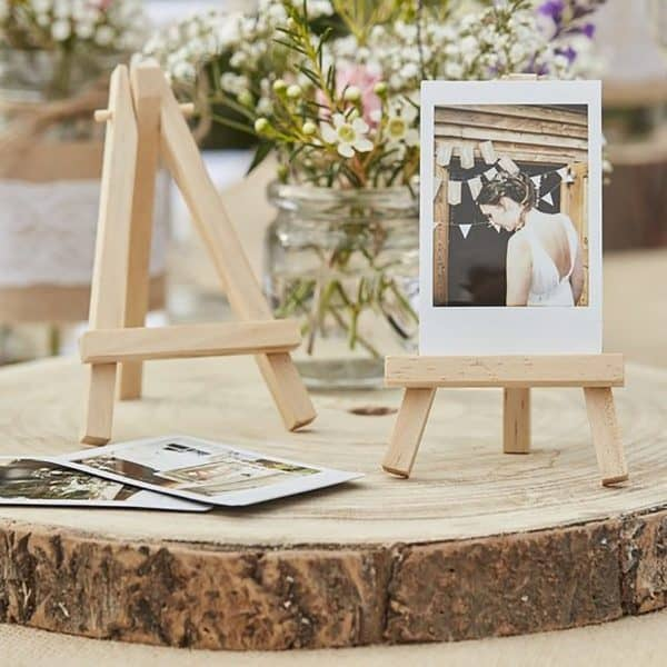 Wedding Decoration - Wooden Lamps and signs