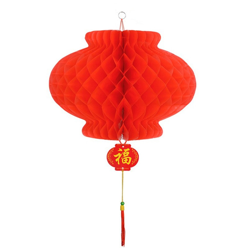6pcs new year 2020 paper lantern chinese festival red lantern pendant Christmas Decorations for home Ornaments Lanterns