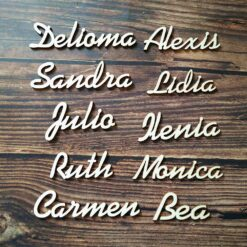 Personalized Wooden Guest Place Names Customized Wood for Wedding Place Card Table Setting Plan