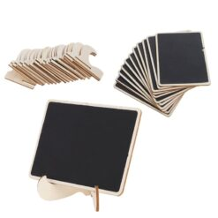 Mini Blackboard Place Card Holder Easel Wedding Party Chalkboard Table Number