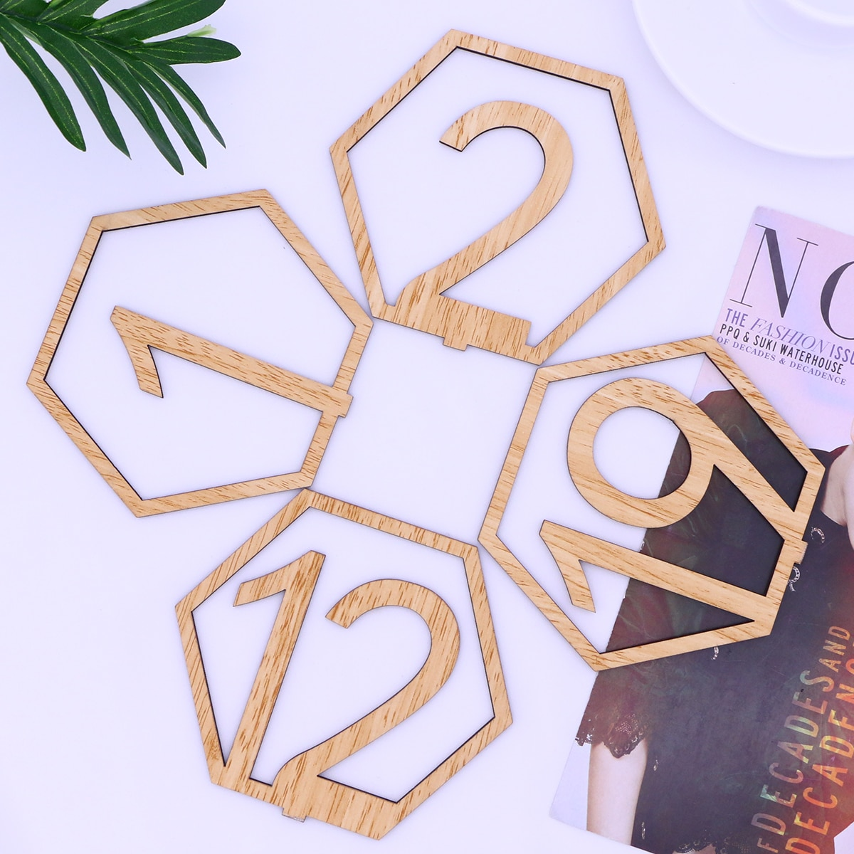 20pcs Wedding Table Numbers Seat Cards Table Number Signs Place Holder Wedding Table Number Cards for Wedding Party Decoration