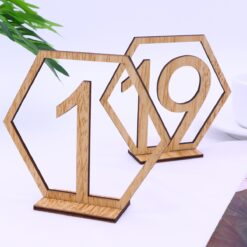 Seat Cards Table Numbers