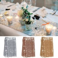 30x180cm Colorful Sequin table runner for Party table cloth Weddings Decoration Table Runners