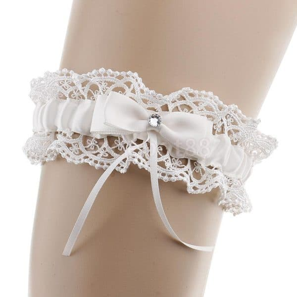 Floral Flower Lace Bridal Garter Thigh Bands Hen Night Party Wedding Supplies
