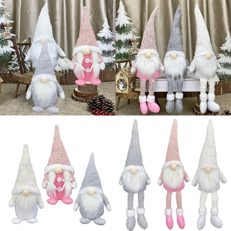 FENGRISE Christmas Faceless Doll Merry Christmas Decorations For Home Cristmas Ornament Xmas Navidad Natal New Year 2021