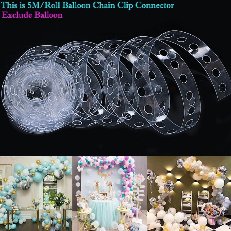 Balloon Arch Kit Party Decoration Accessories Birthday Wedding Baby Shower Backdrop Decor Christmas Party Balloon Garland Kit