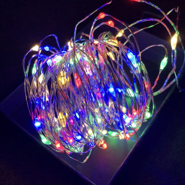 Led String Lights Christmas Decorations 1m 2m 3m 5m 10m Copper Wire New Year Decoration 2020 New Year 2021 The Big Wedding Store